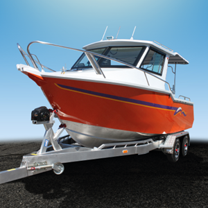Image of Boat with ZEETEX trailer tires